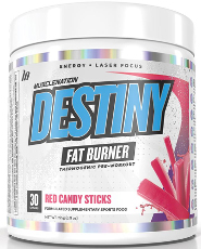 MND Fat burner - red candy sticks