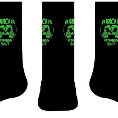 sox - green and black